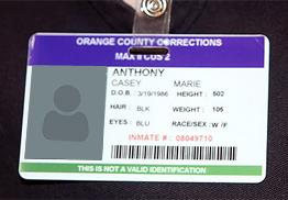 Inmate ID Card