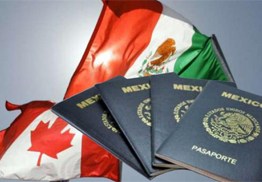 Canadian or Mexican Passport